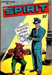 Cover Thumbnail for The Spirit (Quality Comics, 1944 series) #5
