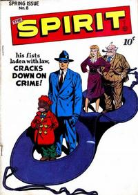 Cover Thumbnail for The Spirit (Quality Comics, 1944 series) #8