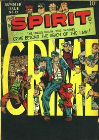 Cover Thumbnail for The Spirit (Quality Comics, 1944 series) #12