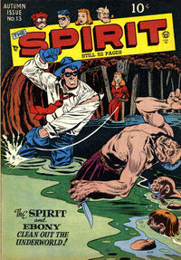 Cover Thumbnail for The Spirit (Quality Comics, 1944 series) #13
