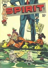 Cover Thumbnail for The Spirit (Quality Comics, 1944 series) #15