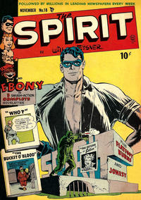 Cover Thumbnail for The Spirit (Quality Comics, 1944 series) #18