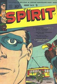 Cover Thumbnail for The Spirit (Quality Comics, 1944 series) #19