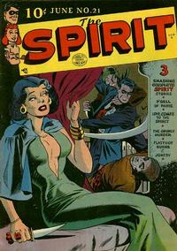 Cover Thumbnail for The Spirit (Quality Comics, 1944 series) #21
