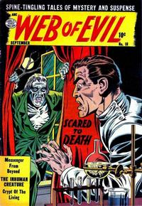 Cover Thumbnail for Web of Evil (Quality Comics, 1952 series) #18