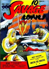 Cover for Doc Savage Comics (Street and Smith, 1940 series) #v1#3 [3]