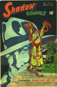 Cover Thumbnail for Shadow Comics (Street and Smith, 1940 series) #v7#11 [83]