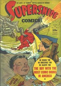 Cover Thumbnail for Supersnipe Comics (Street and Smith, 1942 series) #v1#6 [6]