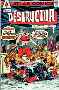 Cover Thumbnail for The Destructor (Seaboard, 1975 series) #3