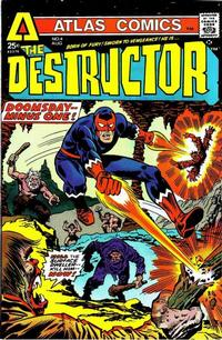 Cover Thumbnail for The Destructor (Seaboard, 1975 series) #4