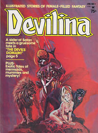 Cover Thumbnail for Devilina (Seaboard, 1975 series) #1