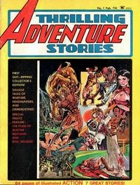 Cover Thumbnail for Thrilling Adventure Stories (Seaboard, 1975 series) #1