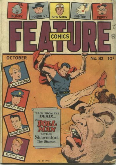 Cover for Feature Comics (Quality Comics, 1939 series) #82