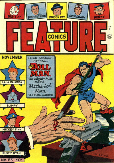 Cover for Feature Comics (Quality Comics, 1939 series) #83