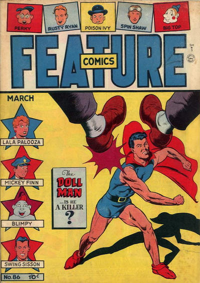 Cover for Feature Comics (Quality Comics, 1939 series) #86