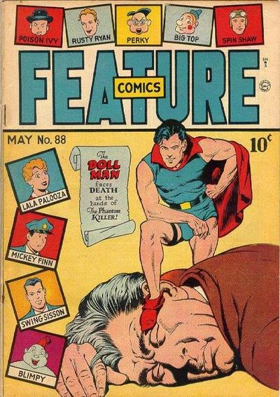 Cover for Feature Comics (Quality Comics, 1939 series) #88