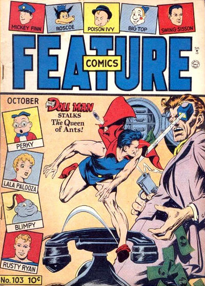 Cover for Feature Comics (Quality Comics, 1939 series) #103