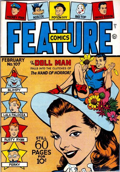 Cover for Feature Comics (Quality Comics, 1939 series) #107