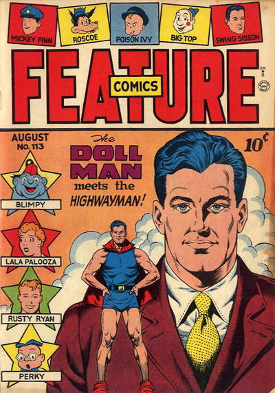 Cover for Feature Comics (Quality Comics, 1939 series) #113
