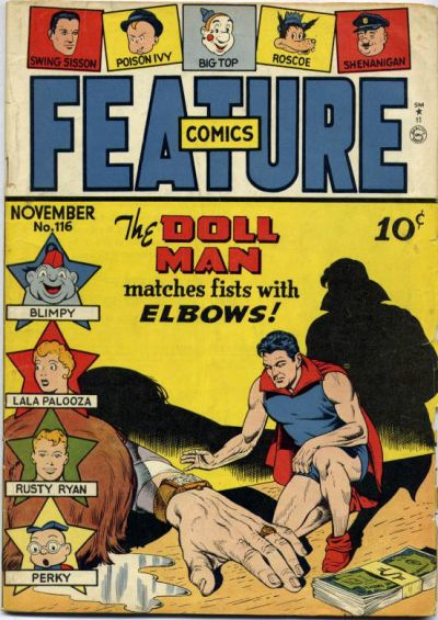 Cover for Feature Comics (Quality Comics, 1939 series) #116