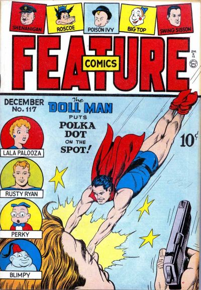 Cover for Feature Comics (Quality Comics, 1939 series) #117