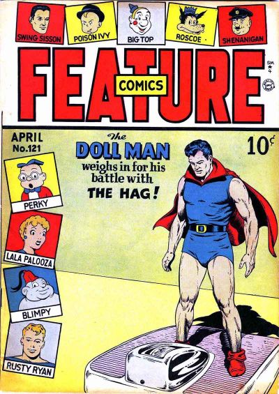 Cover for Feature Comics (Quality Comics, 1939 series) #121