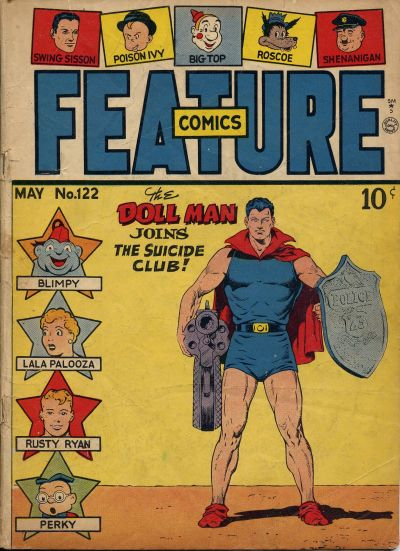 Cover for Feature Comics (Quality Comics, 1939 series) #122