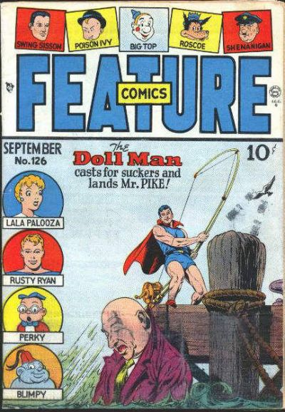 Cover for Feature Comics (Quality Comics, 1939 series) #126