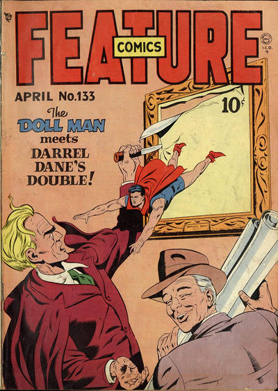 Cover for Feature Comics (Quality Comics, 1939 series) #133