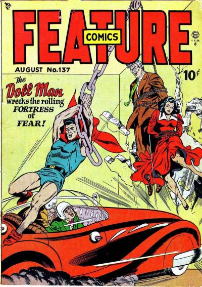 Cover for Feature Comics (Quality Comics, 1939 series) #137