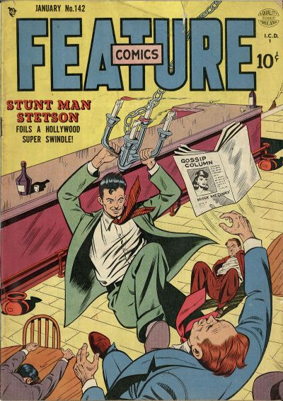 Cover for Feature Comics (Quality Comics, 1939 series) #142