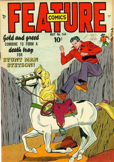 Cover for Feature Comics (Quality Comics, 1939 series) #144