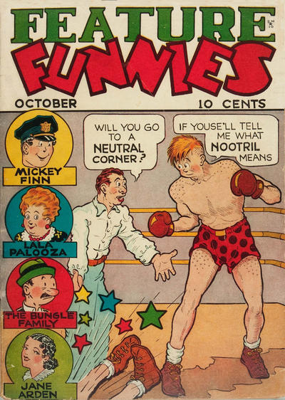 Cover for Feature Funnies (Quality Comics, 1937 series) #1