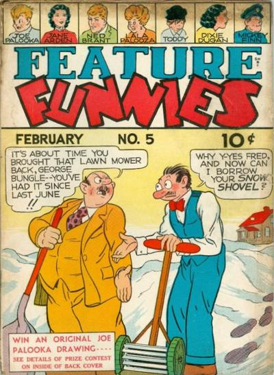 Cover for Feature Funnies (Quality Comics, 1937 series) #5