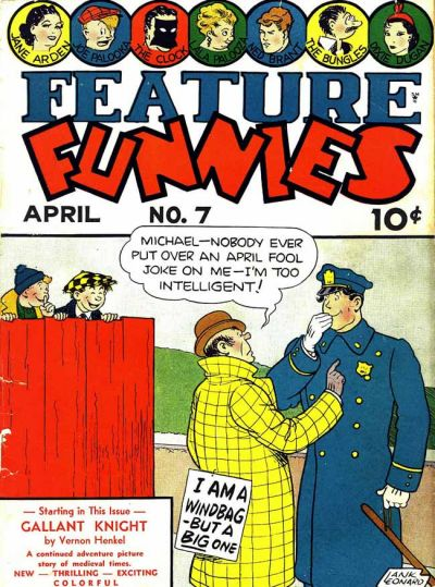 Cover for Feature Funnies (Quality Comics, 1937 series) #7