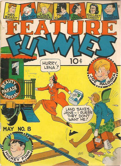 Cover for Feature Funnies (Quality Comics, 1937 series) #8