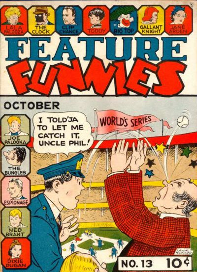 Cover for Feature Funnies (Quality Comics, 1937 series) #13