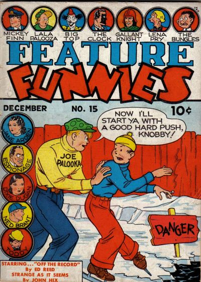 Cover for Feature Funnies (Quality Comics, 1937 series) #15