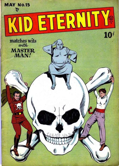 Cover for Kid Eternity (Quality Comics, 1946 series) #15