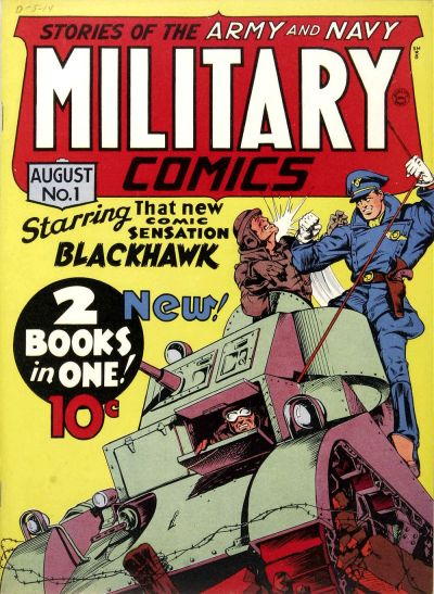 Cover for Military Comics (Quality Comics, 1941 series) #1