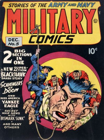 Cover for Military Comics (Quality Comics, 1941 series) #5
