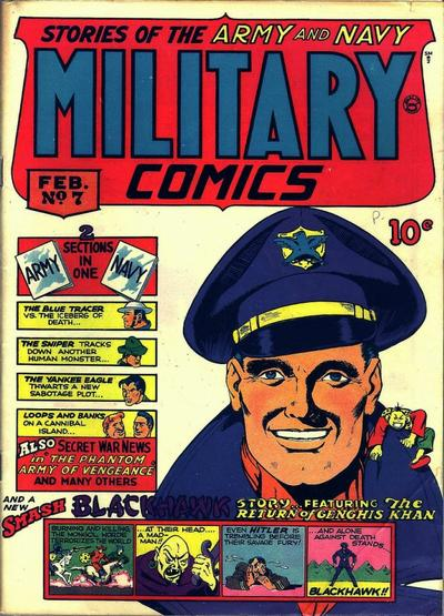 Cover for Military Comics (Quality Comics, 1941 series) #7