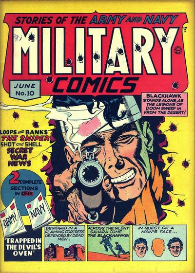 Cover for Military Comics (Quality Comics, 1941 series) #10