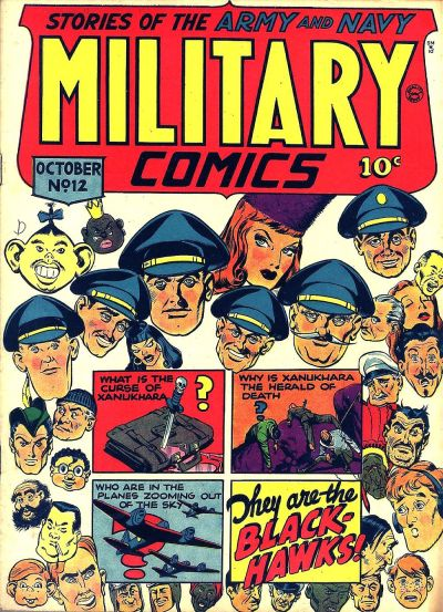 Cover for Military Comics (Quality Comics, 1941 series) #12