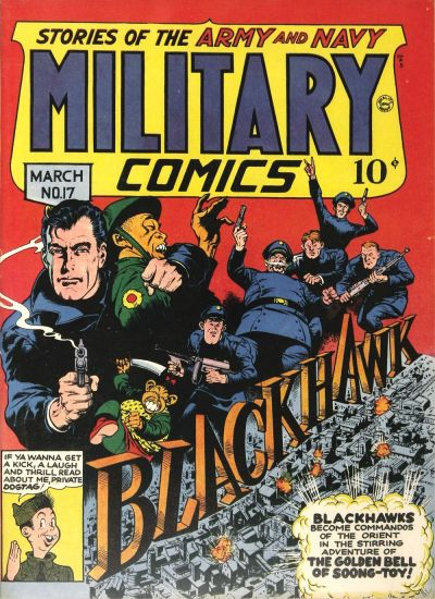 Cover for Military Comics (Quality Comics, 1941 series) #17