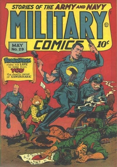 Cover for Military Comics (Quality Comics, 1941 series) #29