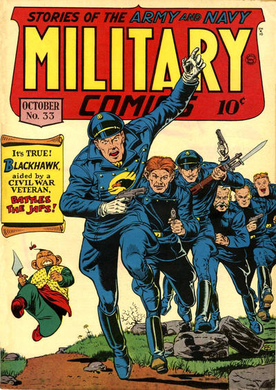 Cover for Military Comics (Quality Comics, 1941 series) #33