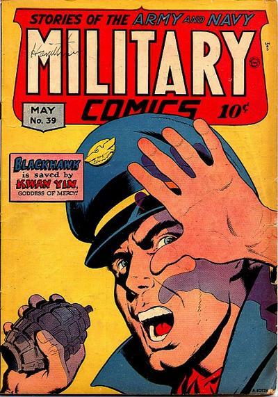 Cover for Military Comics (Quality Comics, 1941 series) #39
