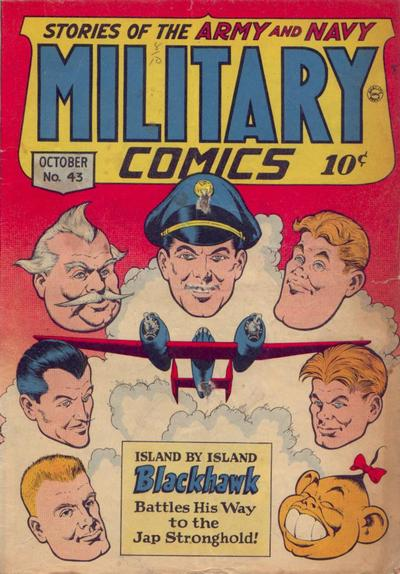 Cover for Military Comics (Quality Comics, 1941 series) #43