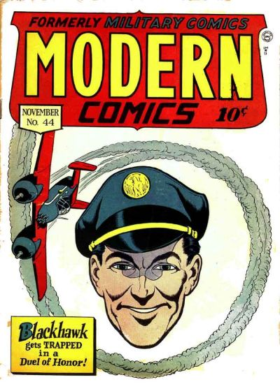 Cover for Modern Comics (Quality Comics, 1945 series) #44